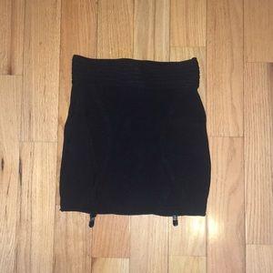 Garter Mini Skirt